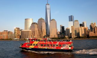48 Hour Hop-on Hop-off New York City Bus Tour + Free Boat Tour