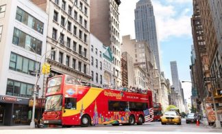 24 Hour Hop-on Hop-off New York City Tour + Free Boat Ride