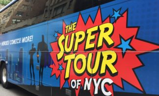 The Super Tour of NYC: Heroes, Comics, and More!