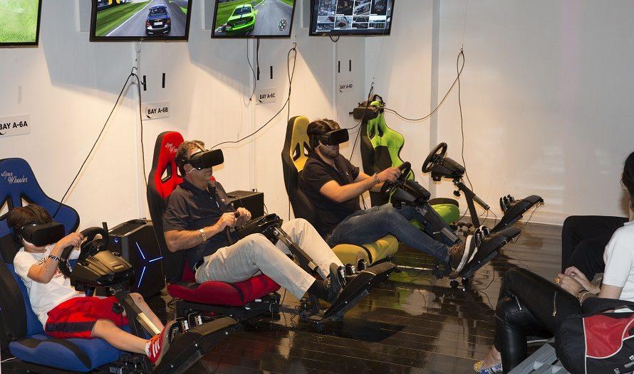 VR World Racing Simulator