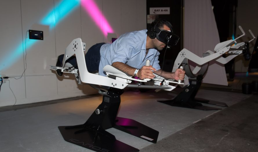 VR World Flying Simulator