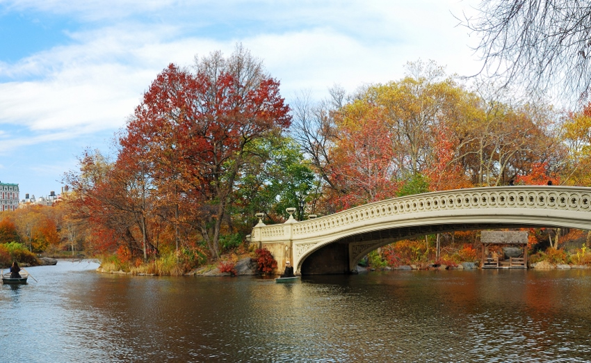 Bow Bridge at Central Park
