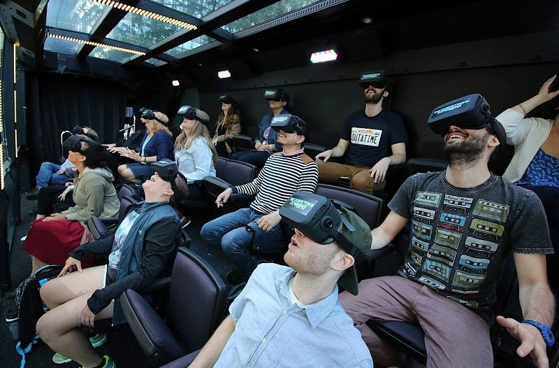 VR THE RIDE NYC