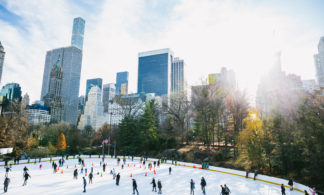 Package: Ice Skating at Central Park Wollman Rink + Empire State Building Observatory