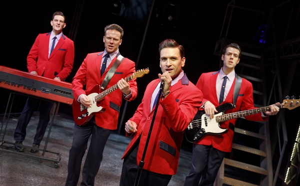 Jersey Boys on stage