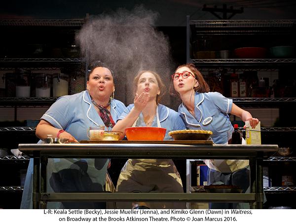 Waitress opn Broadway