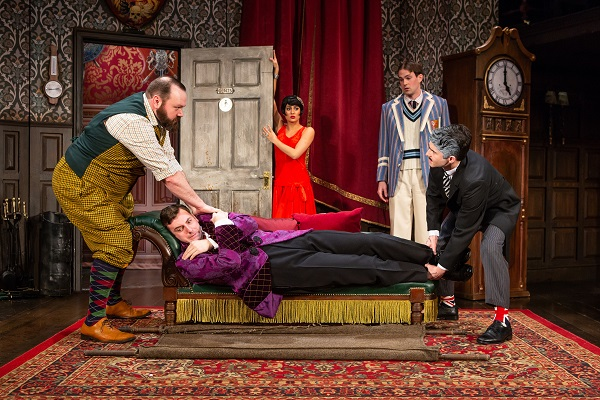 The Play That Goes Wrong corpse