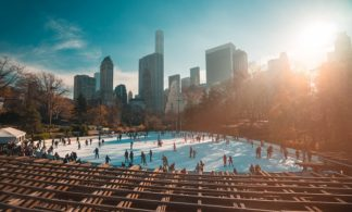 Package: Central Park Ice Skating Ticket + Central Park Walking Tour