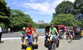 1 Hour Pedicab Tour of Central Park